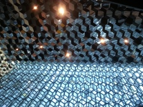 A picture from inside Harpa