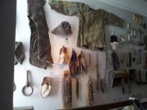 Fishing paraphernalia in the Skogar Folk Museum