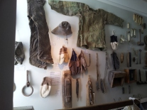 Fishing paraphernalia in the Skogar Folk Museum