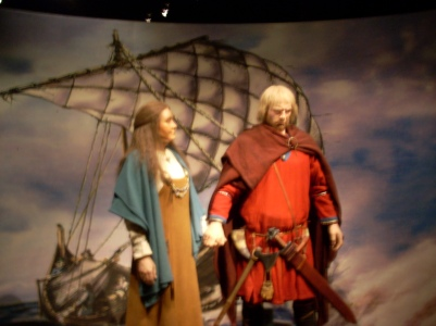 At the Saga Museum