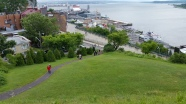 Winding paths leading to the Promenade